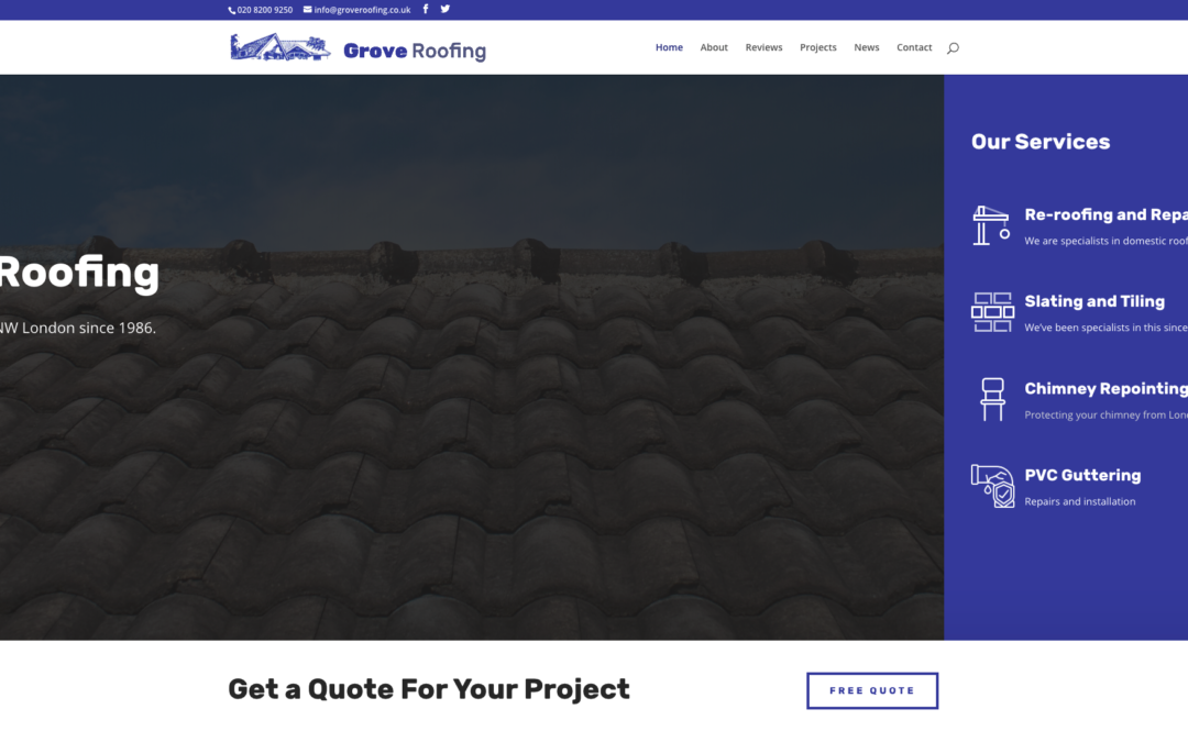 Grove Roofing Contractors